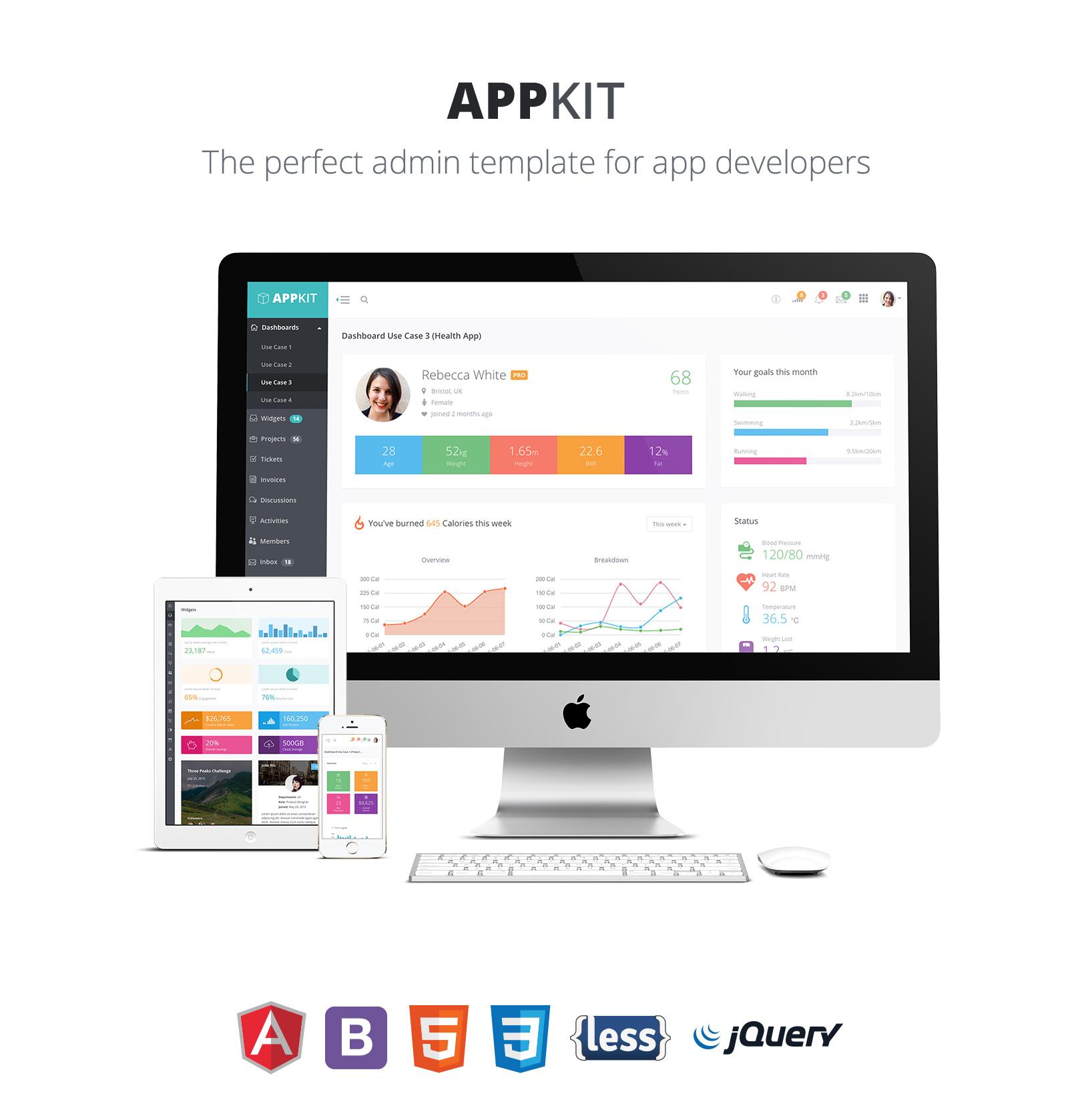 AppKit - Angular Admin Theme