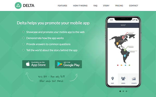 responsive bootstrap theme for mobile apps delta
