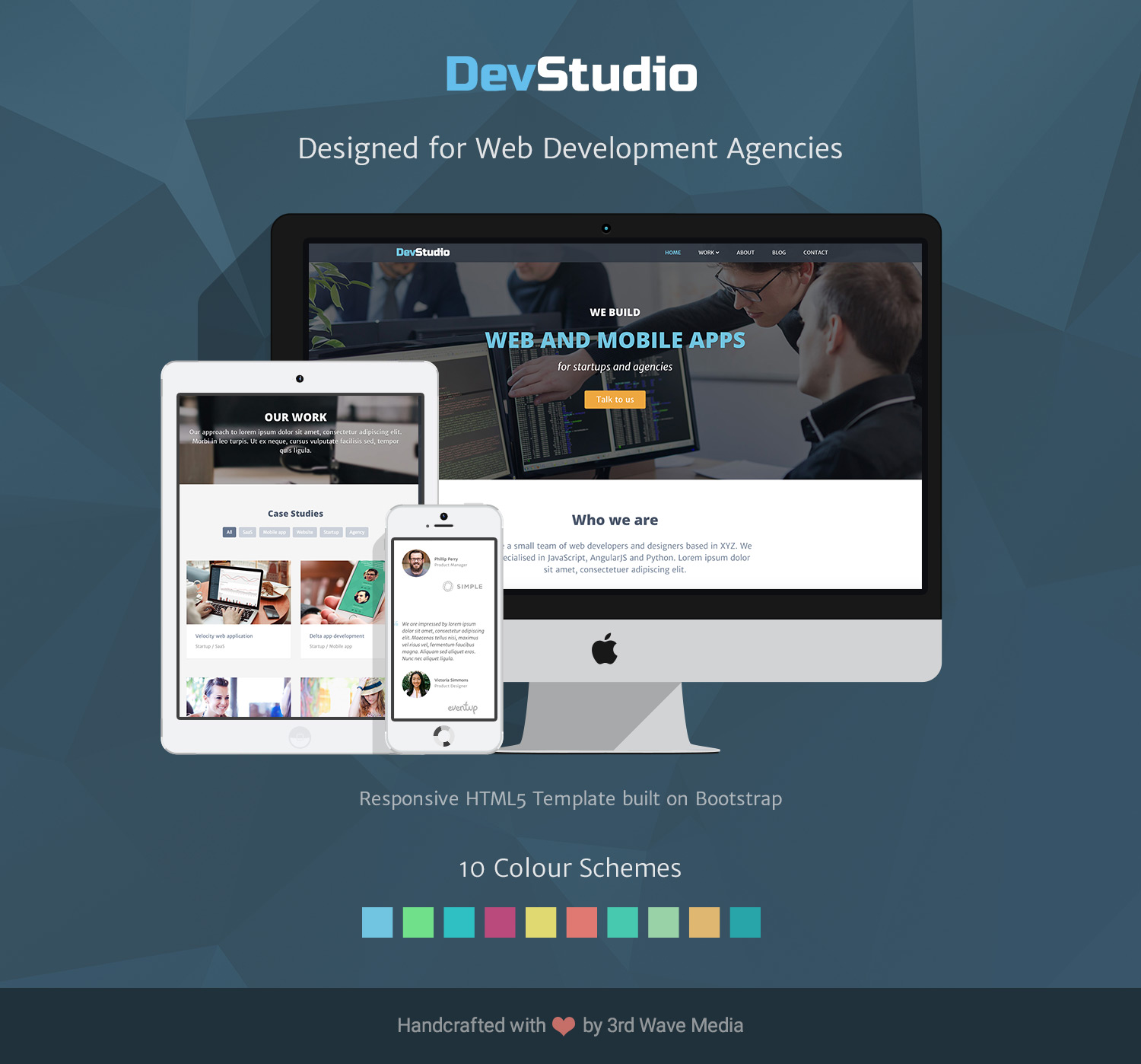 Responsive-Bootstrap-Template-for-Web-Development-Agency-DevStudio