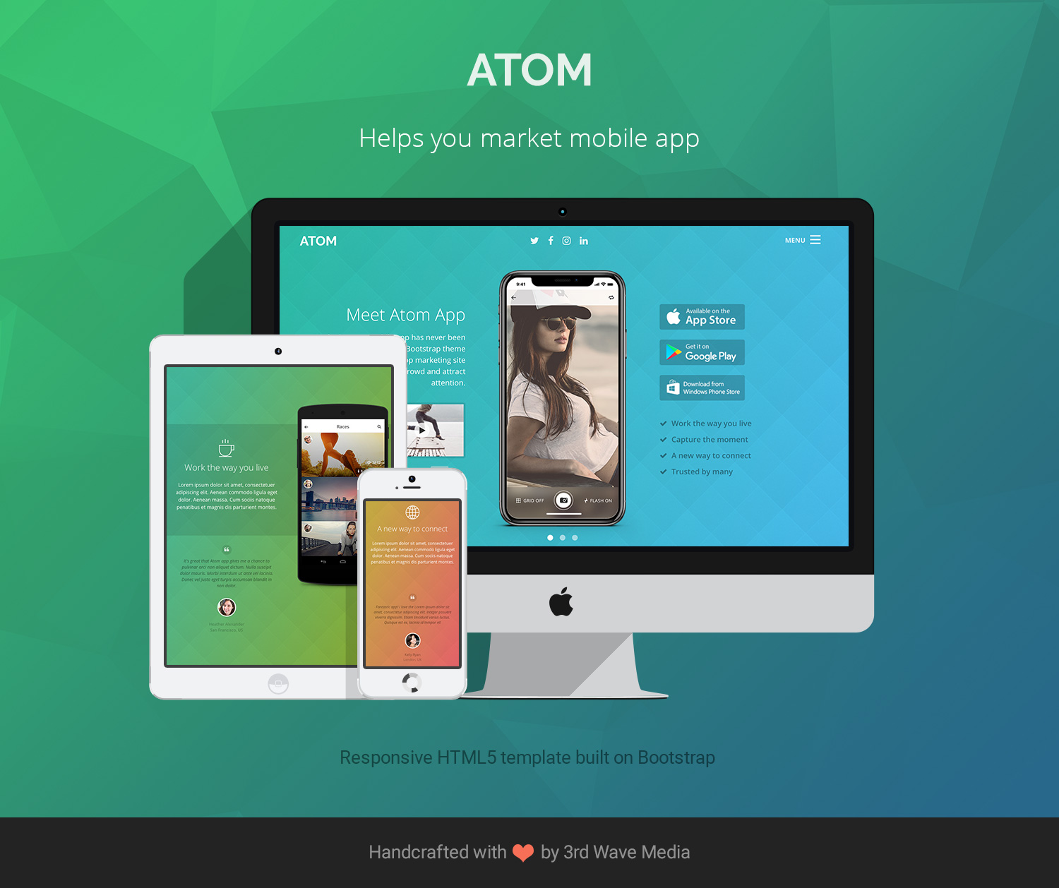 Responsive-Bootstrap-Theme-for-Mobile-Apps