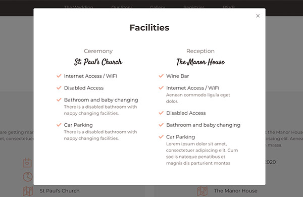 matrimony-facilities-modal