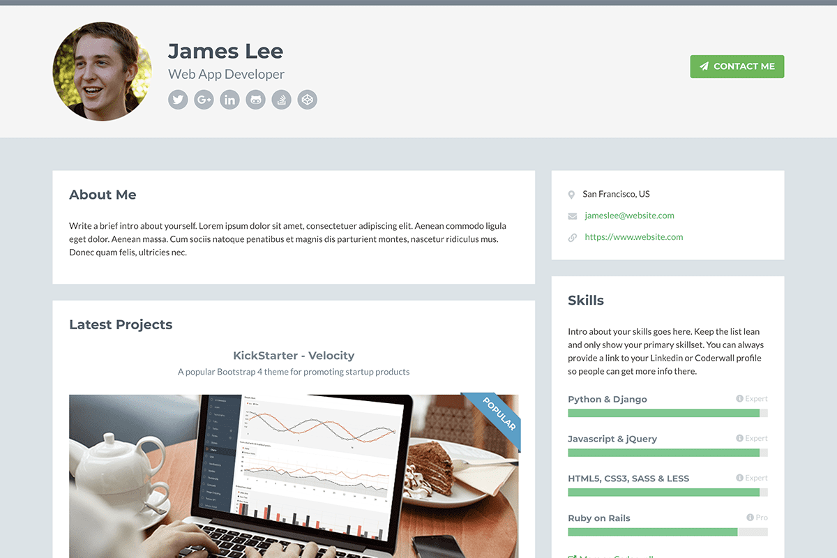 top-10-bootstrap-themes-for-developers-developer-theme-screenshot