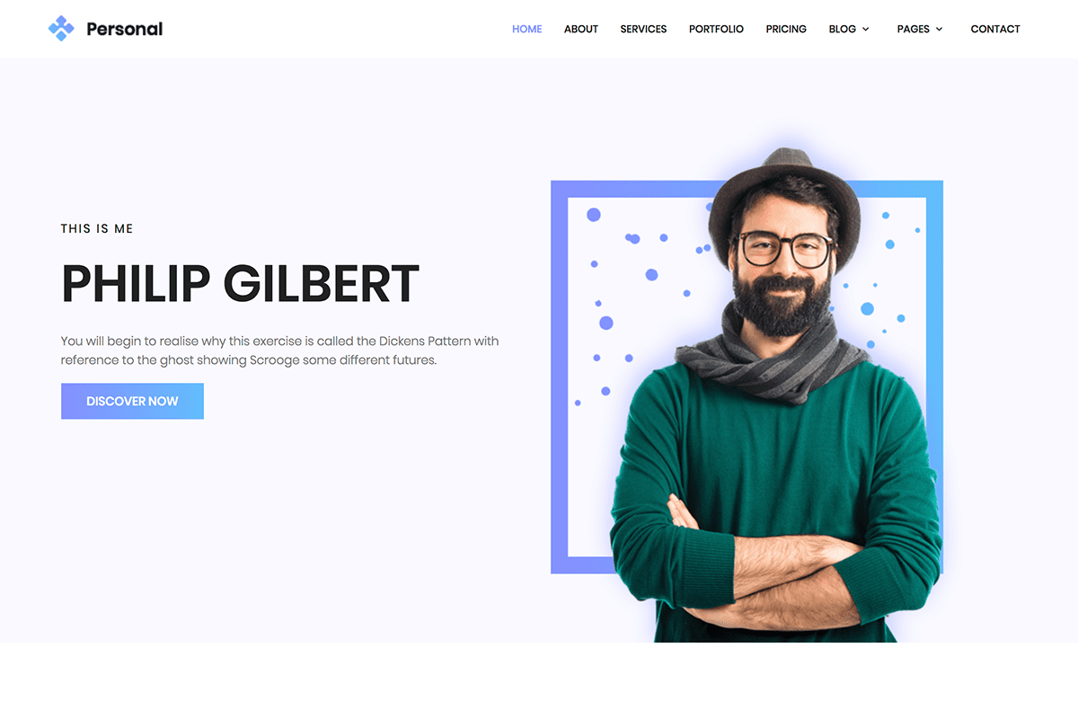top-10-bootstrap-themes-for-developers-personal-theme-screenshot