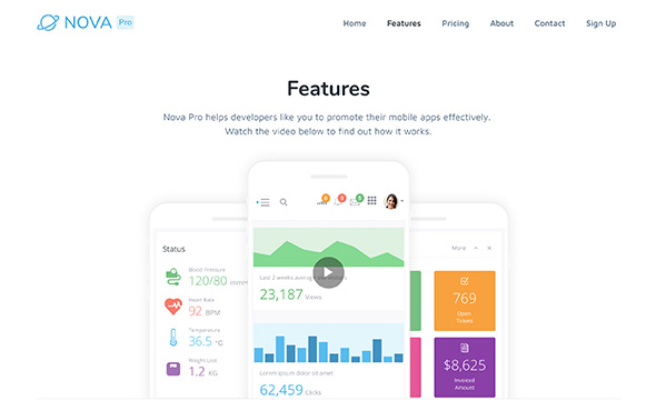 Bootstrap-Template-For-Mobile-Apps-Nova-Pro-Features-Page