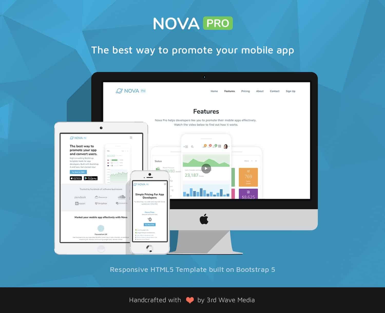 Bootstrap-Mobile-App-Template-Nova-Pro