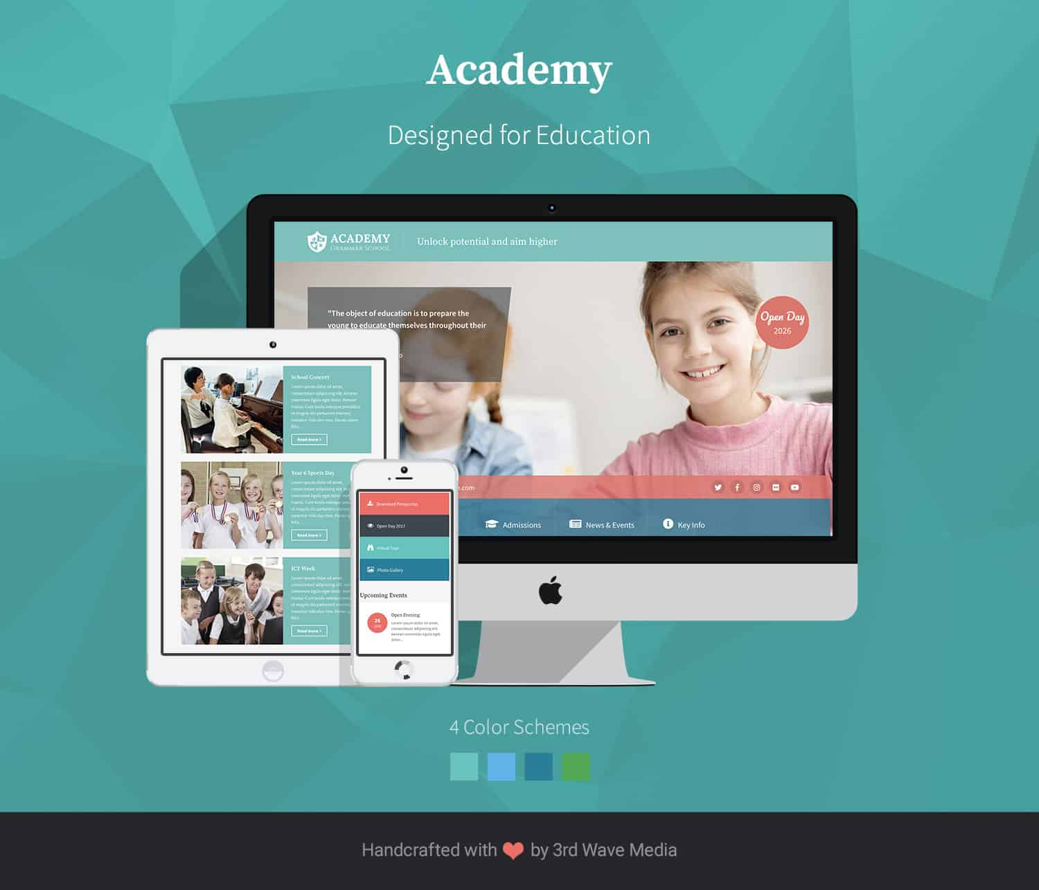 Academy-bootstrap-education-template