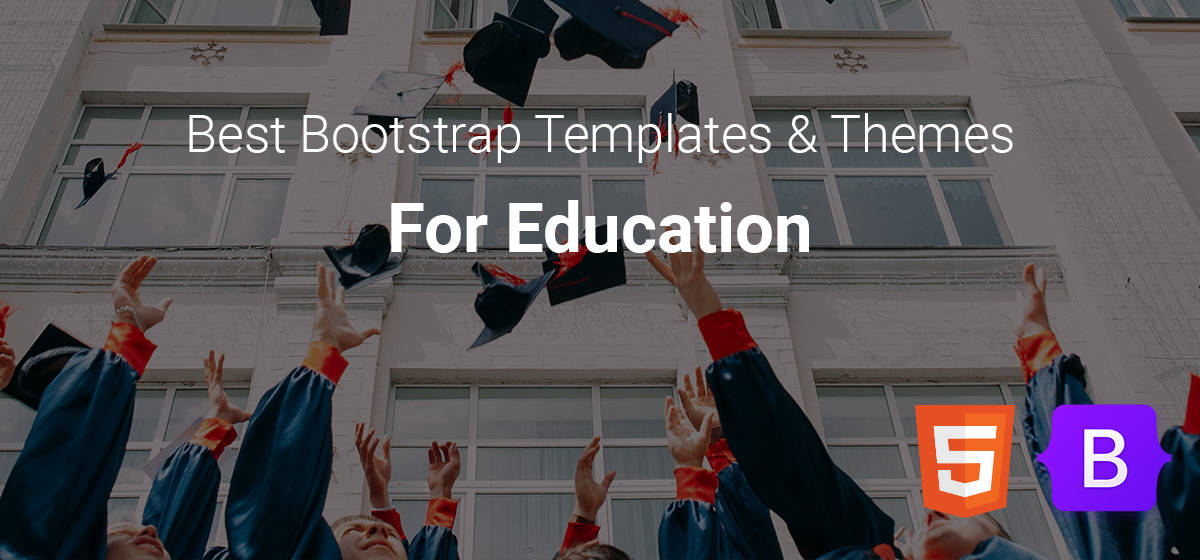 Best Bootstrap Themes and Templates for Education