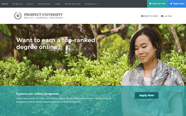 bootstrap-education-landing-page-template-prospect
