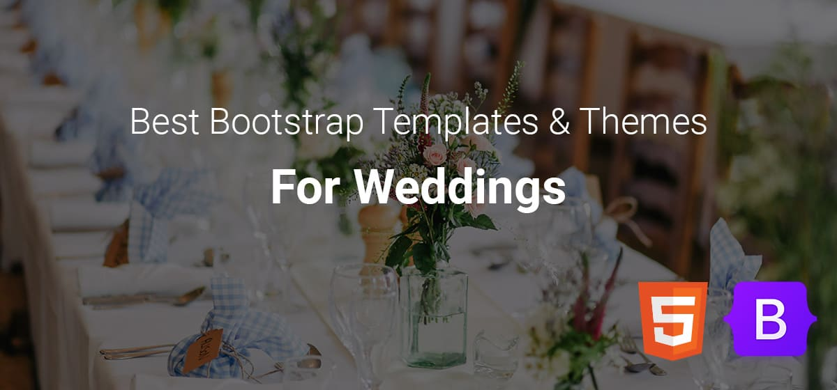 best-bootstrap-templates-for-weddings