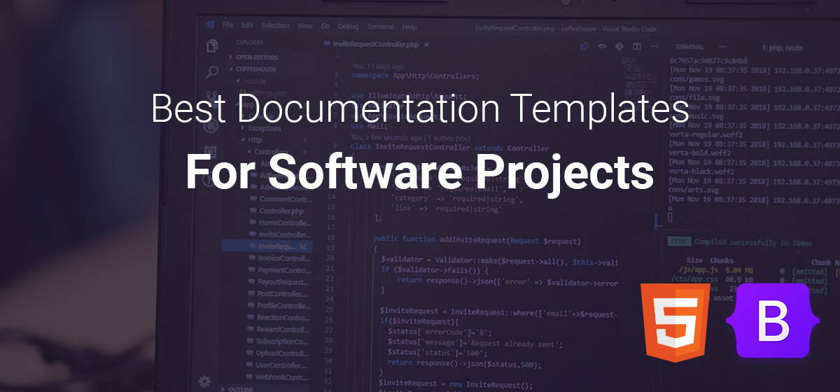Best documentation templates for software projects