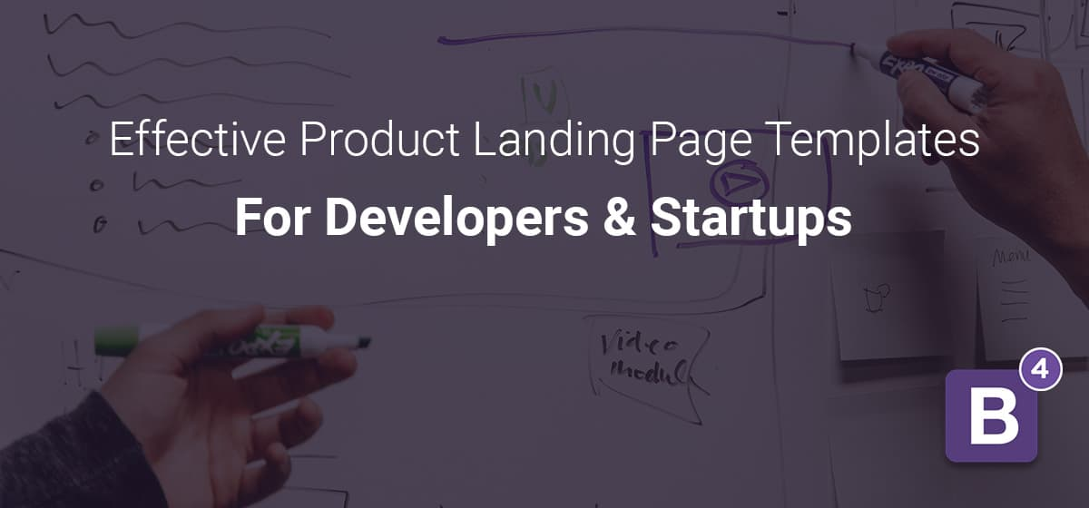 Product Landing Page Templates For Developers and Startups
