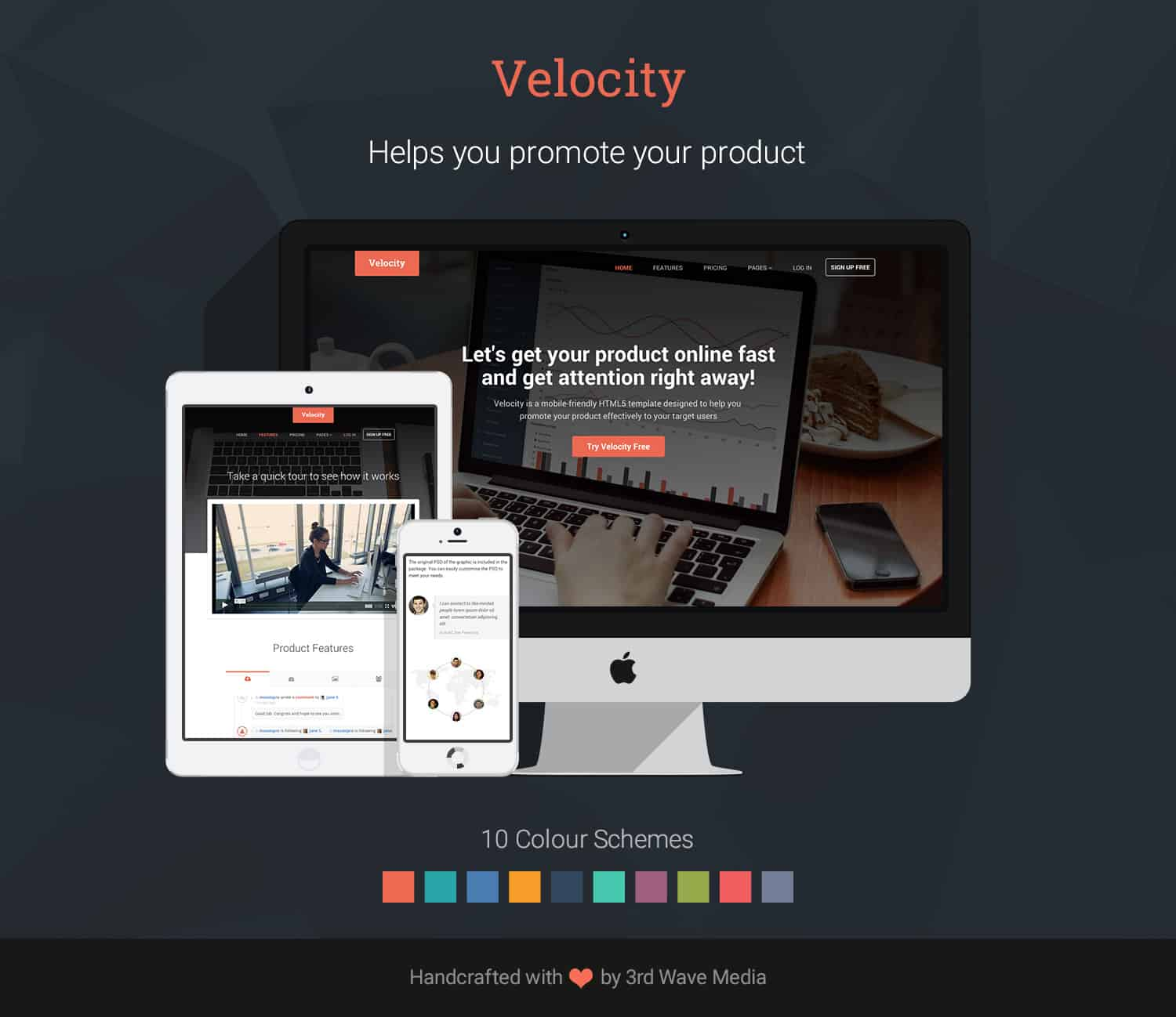 Bootstrap-Template-for-SaaS-Product-Velocity