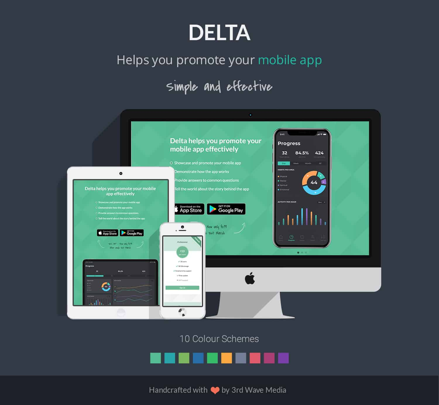 Delta-Bootstrap-Theme-For-Mobile-Apps