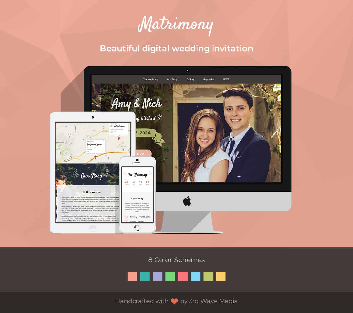 matrimony-bootstrap-template-for-weddings