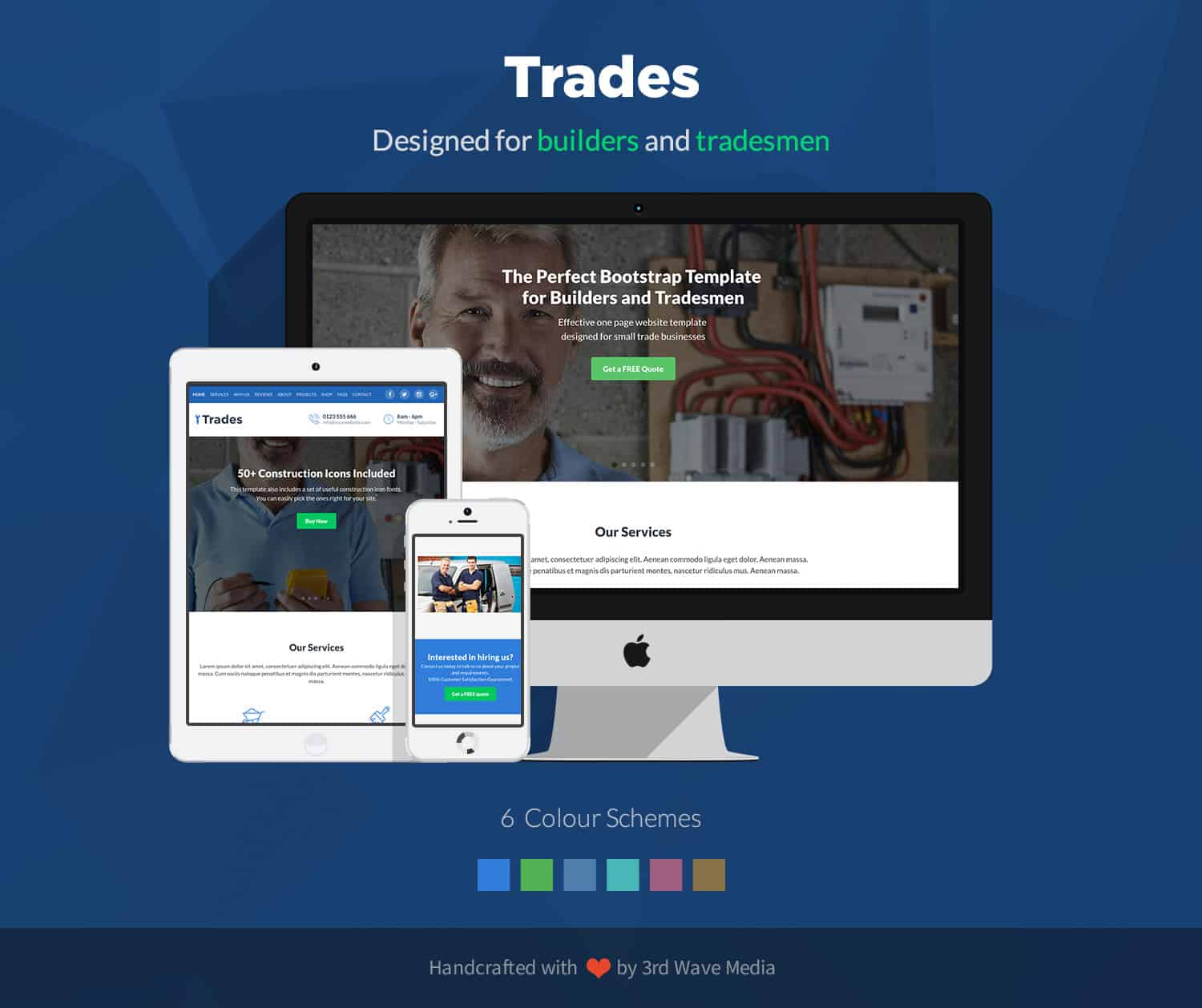 trades-bootstrap-template-for-builders-and-tradesmen